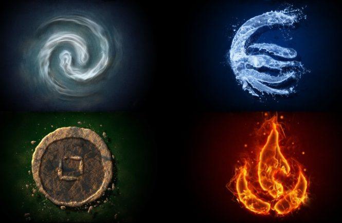 los signos del zodiaco y los elementos